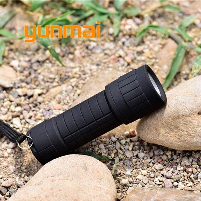Yunmai puissant Lampe de poche LED Portable lumière noire étanche Cob Penlight Lampe torche lanterne un Mode travail Camping Lampe