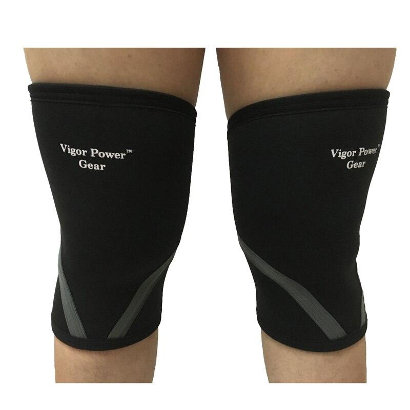 Prix pour Vpg-wl1402 Noir Rose 5mm genou manches pour haltérophilie, crossfit, powerlifting, musculation, gymnastique-hommes et femmes