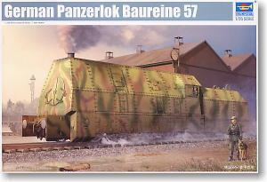 Trumpeter 1 35 scale model 00219 Germany BR57 armored train