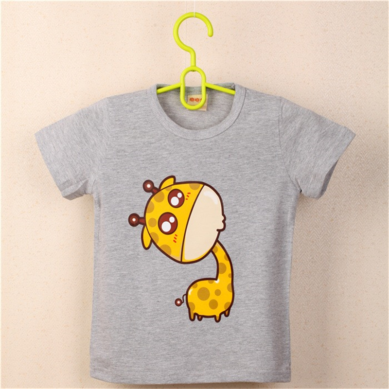 FHADST-2017-Summer-New-Baby-Boys-White-Cool-T-shirt-Short-Sleeve-100-Cotton-Casual-tees-Kids-Clothes-Character-Cute-monkey-tees-2