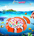 Brinquedo de Pesca Elétrica Rotativa Brinquedos De Pesca Do Miúdo dos desenhos animados Crianças Presentes Brinquedo Educacional de Aprendizagem Toy Jogo Ao Ar Livre para o Bebê