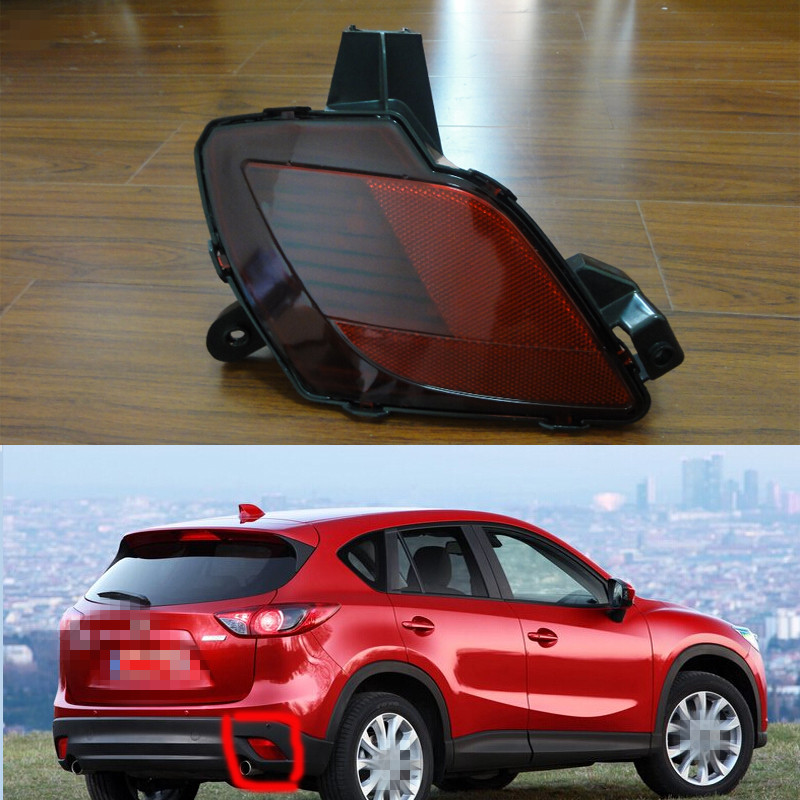 1 Piece RH KD77-51-650-A Rear Bumper Lamp Tail Fog Light for Mazda CX-5 2013-2015 rear bumper light fog lamp for mazda cx 5 left and right top quality