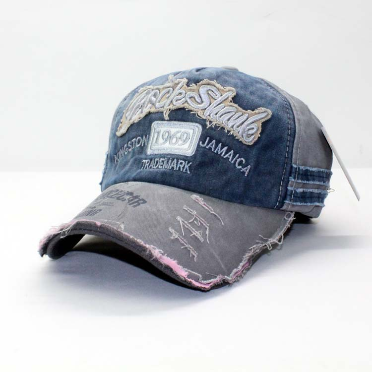 2e5f9688689 New Arrival Fashion Baseball Cap Retro Frayed Ball Hat Unisex Design Curved  Birm Sport Cap High Quality Embroidery Snapback Hat-in Baseball Caps from  ...