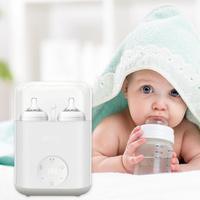 Baby Double Bottle Sterilizer Milk Warmer Heater for Breast Milk Feeding
