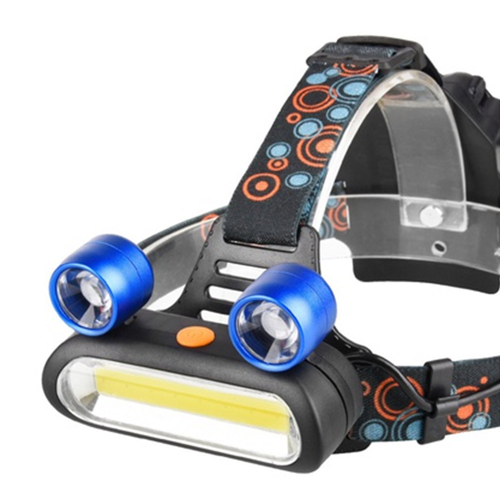 LED Mini Headlight 4-Mode USB Rechargeable Headlamp Camping Flashlight Hunting Frontal Head Torch by Battery boruit b10 xm l2 led headlamp 3 mode 3800lm headlight micro usb rechargeable head torch camping hunting waterproof frontal lamp