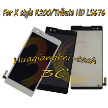 Новый 5,0 для LG X Style K200 K200DS Полный ЖК дисплей + сенсорный экран дигитайзер в сборе для LG Tribute HD LS676 100% тестирование