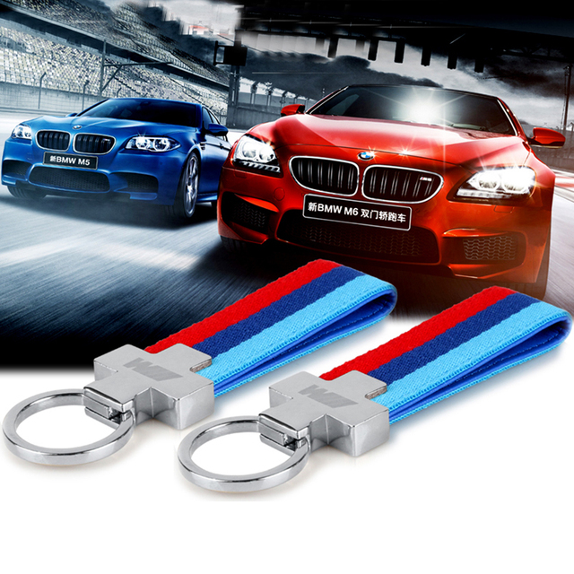 Fashoin Metal Car Key Ring Keyring Keychain Key Chain For Bmw M Tech