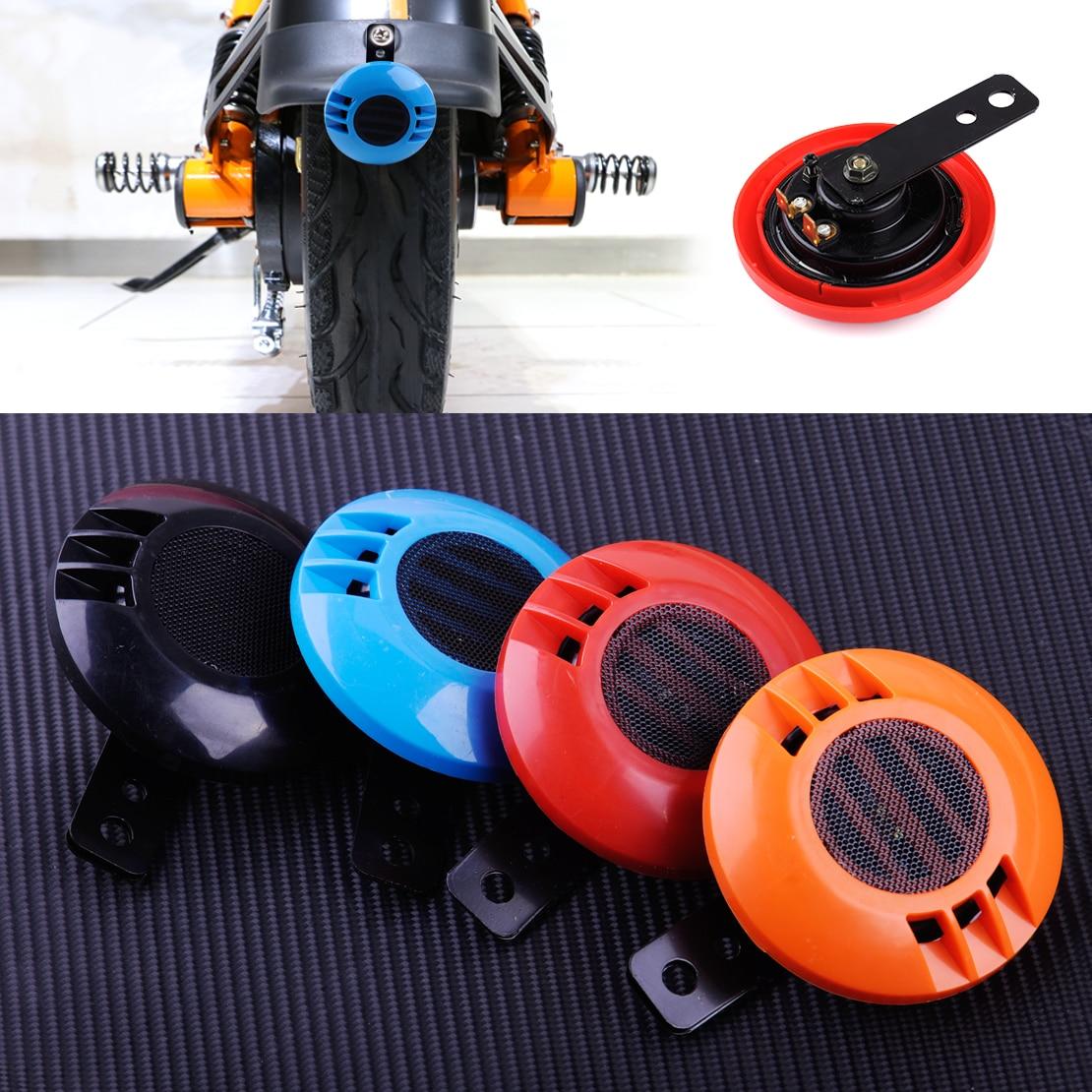 DWCX Motorcycle Super Sound 12V Waterproof Loud 105 dB 430Hz Snail Horn ABS Plastic & Metal for Car Bike