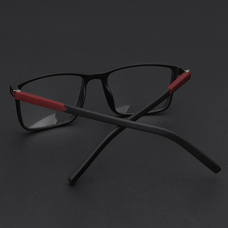 f6b4dea6b7 TR90 Prescription Eyewear Fashion Square Anti Blue Progressive Transition  Clear Optical Prescription Spectacles For Men  MZ05 10-in Prescription  Glasses ...