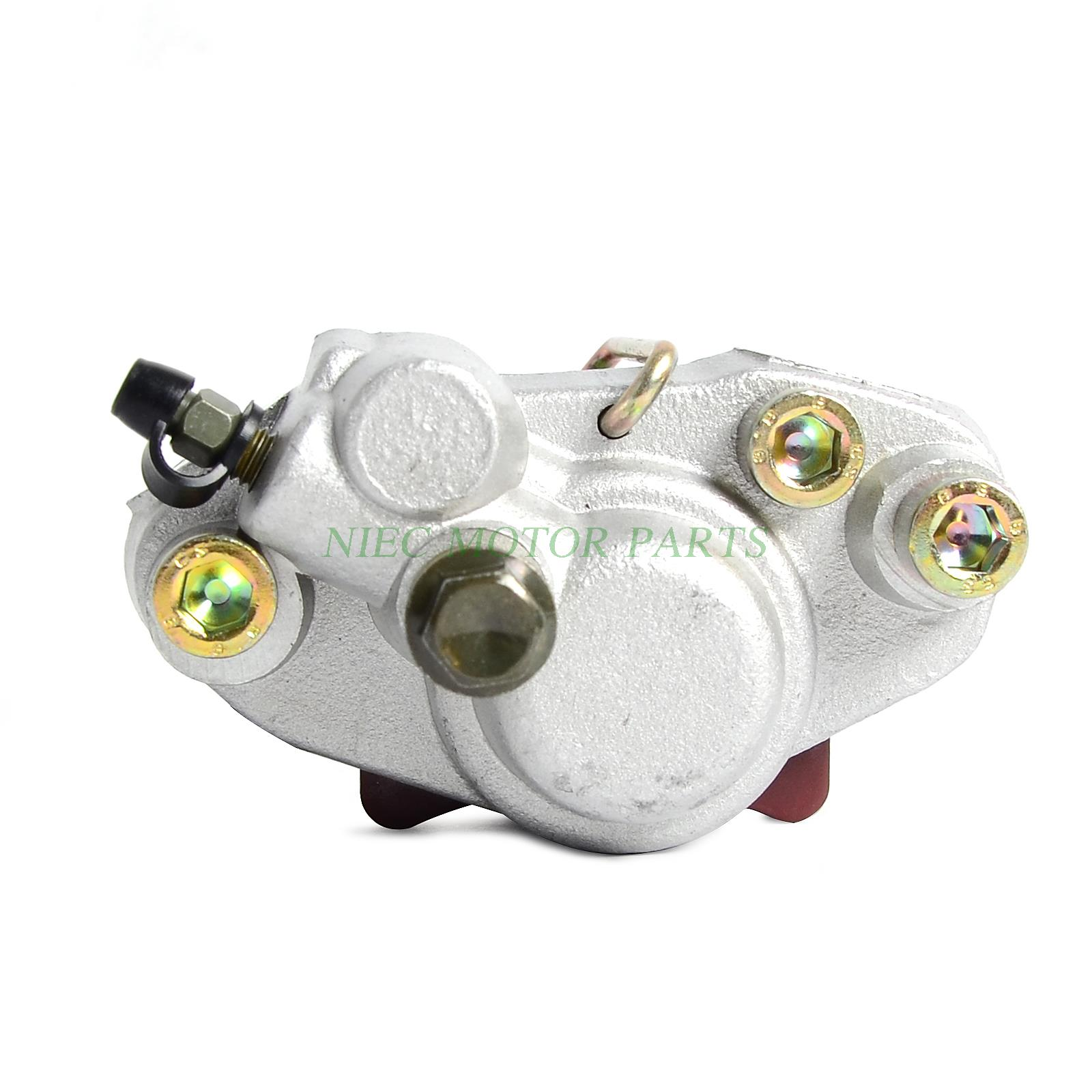 FOR Manco Talon 260 300 ATV Linhai 8260 LH260ATV rear brake caliper with pads crankshaft for 250 257 260 300 yp vog linhai yp250 buyang jinling fa d300 h300 manco talon scooter go kart buggy atv parts