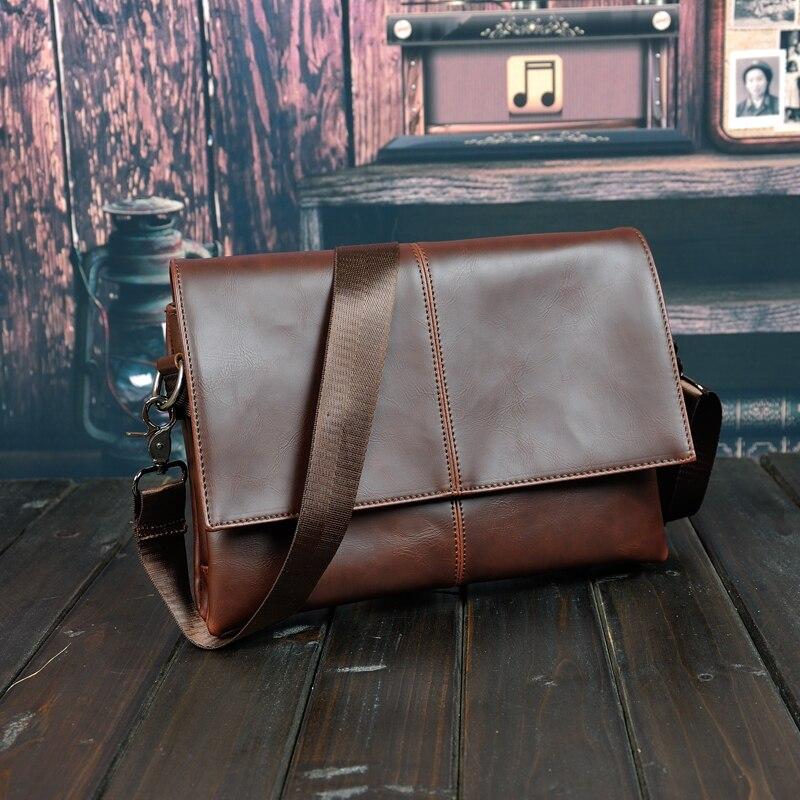 hot sell famous brand design leather men bag,casual business leather mens messenger bag,vintage fashion mens cross body bag