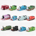 J.G Chen 12 Pcs/Lot PVC Thomas And Friends Train Car  Complete Set Of Car Toy Engine Train Toys