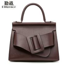 Women Handbags Genuine Leather Fashion Shoulder Bags Fasmous Luxury Brand Designer Style Crossbody Bags