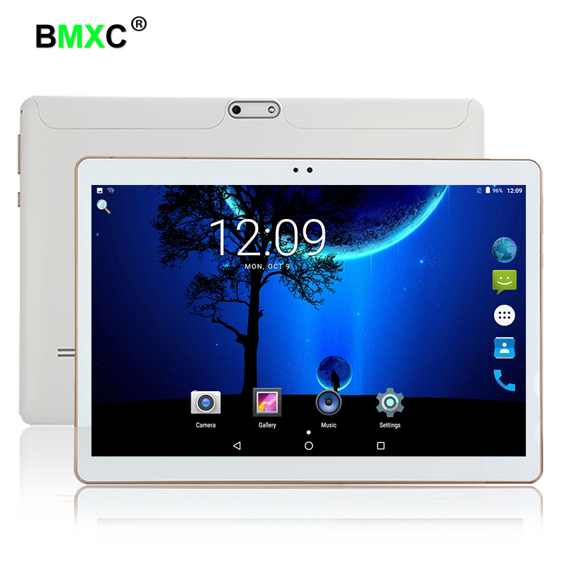 Andriod 7.0 10.1 Inch Tablet PC Quad Core Phone Call Tablet IPS 1280x800 2GB RAM+16GB ROM Dual Camera WiFi Bluetooth FM GPS blackview omega 5 0inch ips fhd 18mp camera android4 4 phone 2gb 16gb
