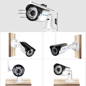 Image 5 - BESDER kablosuz açık güvenlik kamera 1080P 960P 720P IR gece görüş hareket algılama ONVIF Bullet IP kamera wiFi + SD kart yuvası