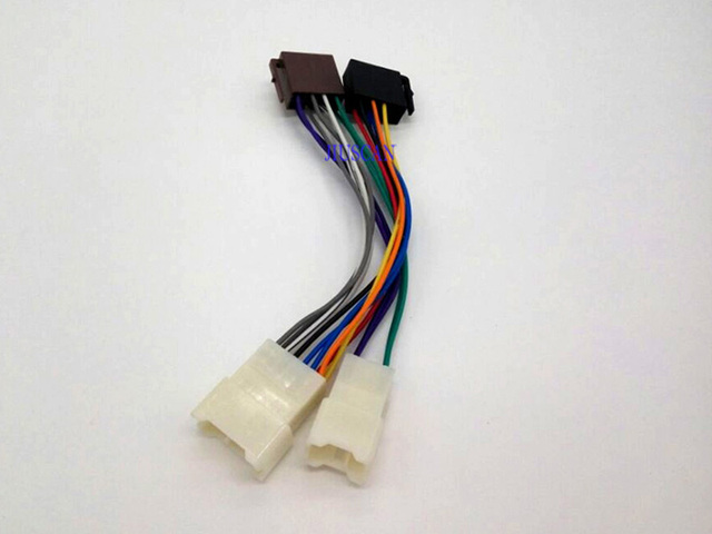 ISO Radio Wire Wiring Harness Adapter for Toyota Lexus Daihatsu Stereo Radio Receiver Replacement Wire_640x640 iso radio wire wiring harness adapter for toyota lexus daihatsu