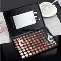 Pro Makeup 88 Colors Eyeshadow Earth Color Pearl Matte Eye Shadow Naked Nude Kit