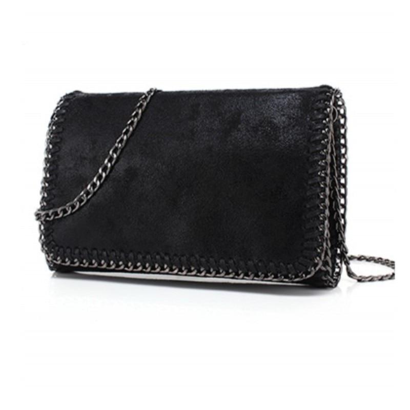 YESIKIMI Women Falabellas bag Crossbody Bag Shiny PU Leather Purse Chain Stella Bags Luxury Brand Clutches Bolsos