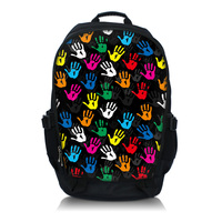 Hands 15 6 Laptop Notebook Tablet PC Backpack College School Book Backpack Travel Bag Free Shipping