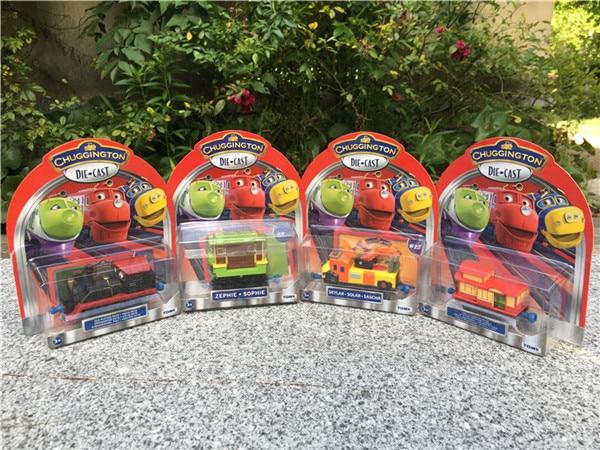 Brand New Takara Tomy Chuggington Metal Diecast Toy Trains Emery/Wilson/KOKO/Harrison/Zephie/Skylar/Dunbar/Speedy/Mtambo