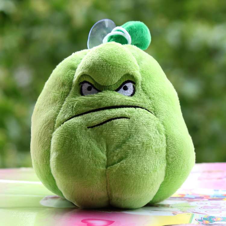16cm Plants Vs Zombies Soft Plush Pp Cotton Squash Toys for Baby Kids Gifts