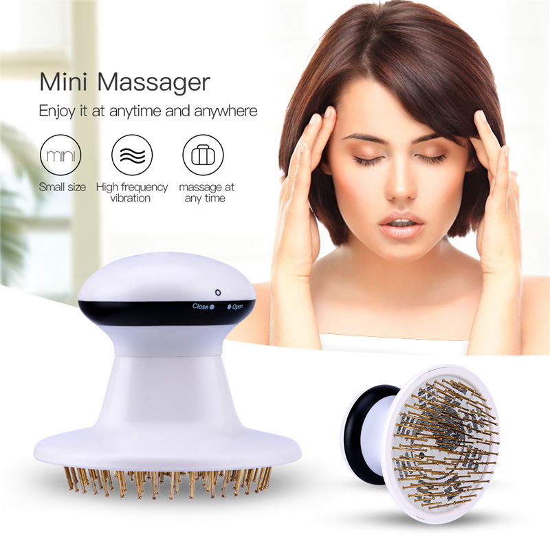 Electric High Frequency Vibration Head Massager Pressure Stress Release Scalp Claw headache Pain Relief Hair Loss TreatmentElectric High Frequency Vibration Head Massager Pressure Stress Release Scalp Claw headache Pain Relief Hair Loss Treatment