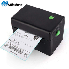 Milestone Thermal Label Printer Commercial Grade Direct High Speed Bar Code MHT-DT108B
