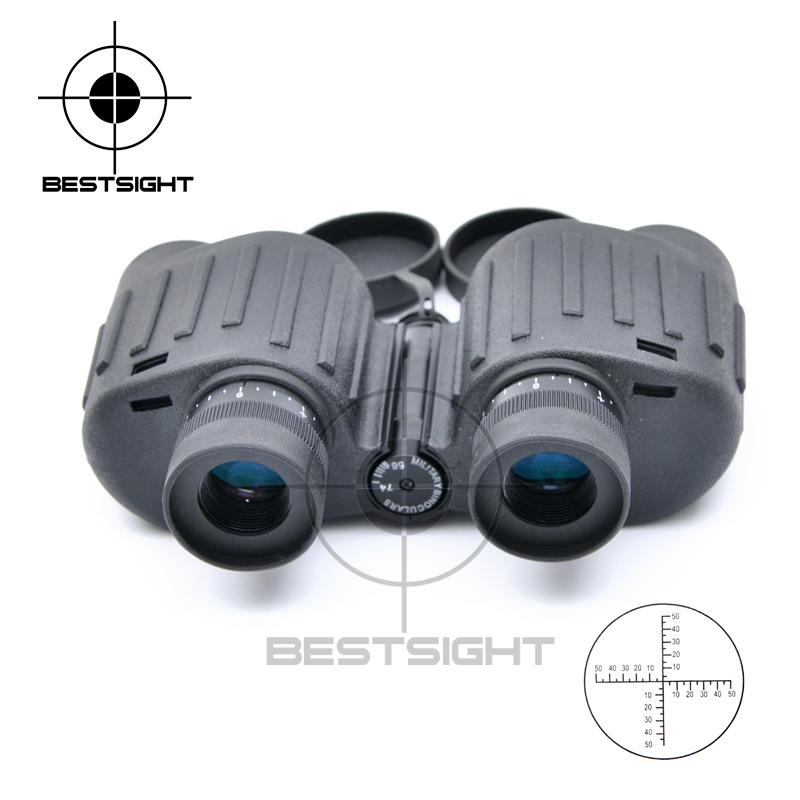 ФОТО HD Waterproof 8X30 Military Binoculars Reticle Telescope With Range Finder For Hunting Filled With Nitroge
