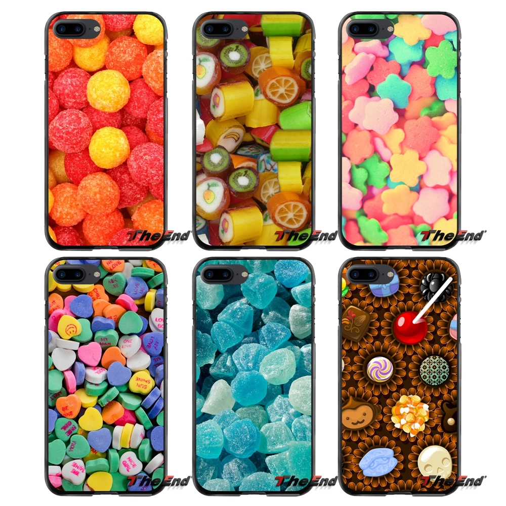 Accessories Phone Shell Covers Candy Poster For Apple iPhone 4 4S 5 5S 5C SE 6 6S 7 8 Plus X iPod Touch 4 5 6
