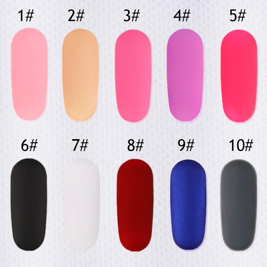 1 Bottle BORN QUEEN Matte Dull Nail Polish Fast Dry Long lasting ...