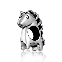 Unicorn Animal 925 Sterling Silver Charm Bead Fit European Pandora Charms Bracelet