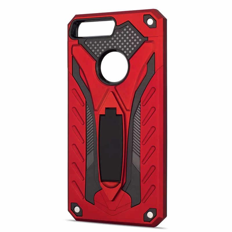 Для huawei Y5 Y7 Prime 2018 TPU + PC Гибридный бронированная подставка защитный чехол-накладка на заднюю панель для huawei Y5 2018/Honor Play 7/Honor 7 s Чехол