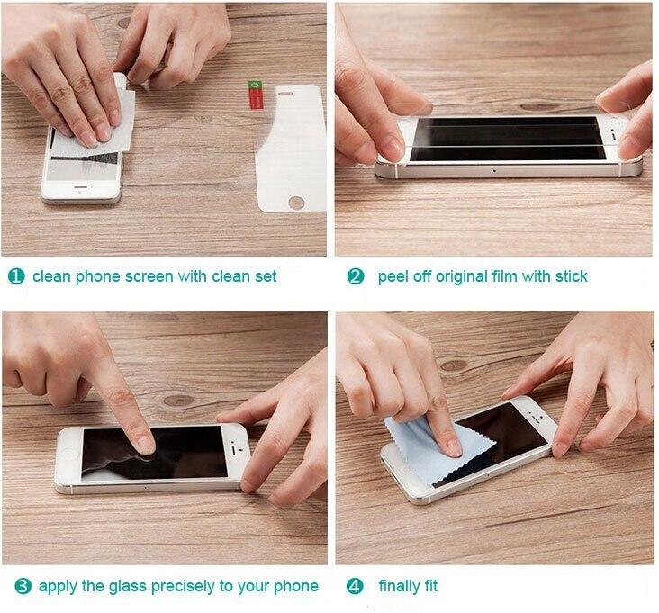 För Xperia Z1 härdat glas skärmskyddsfilm för SONY Xperia Z1 L39H - Reservdelar och tillbehör för mobiltelefoner - Foto 6