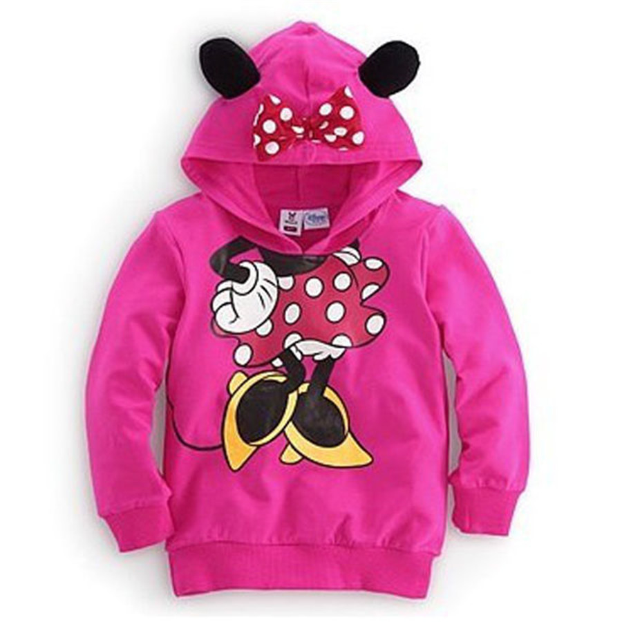 2016 new Autumn&spring cartoon Children Outerwear vestidos hooded girls boy sweatshirt kids clothes, hoodies for boys and girls
