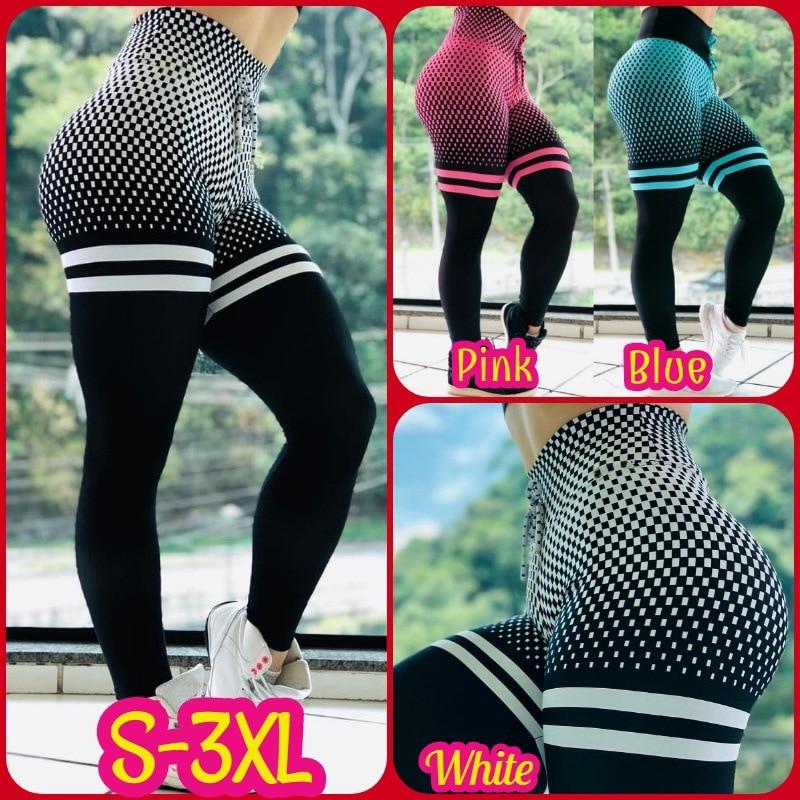 SVOKOR S-3XL Women Print Leggings High Waist Hips Fitness Legging Autumn Casual Breathable Polyester Ladies Pants Women