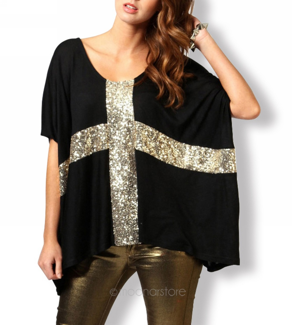 sequined tops