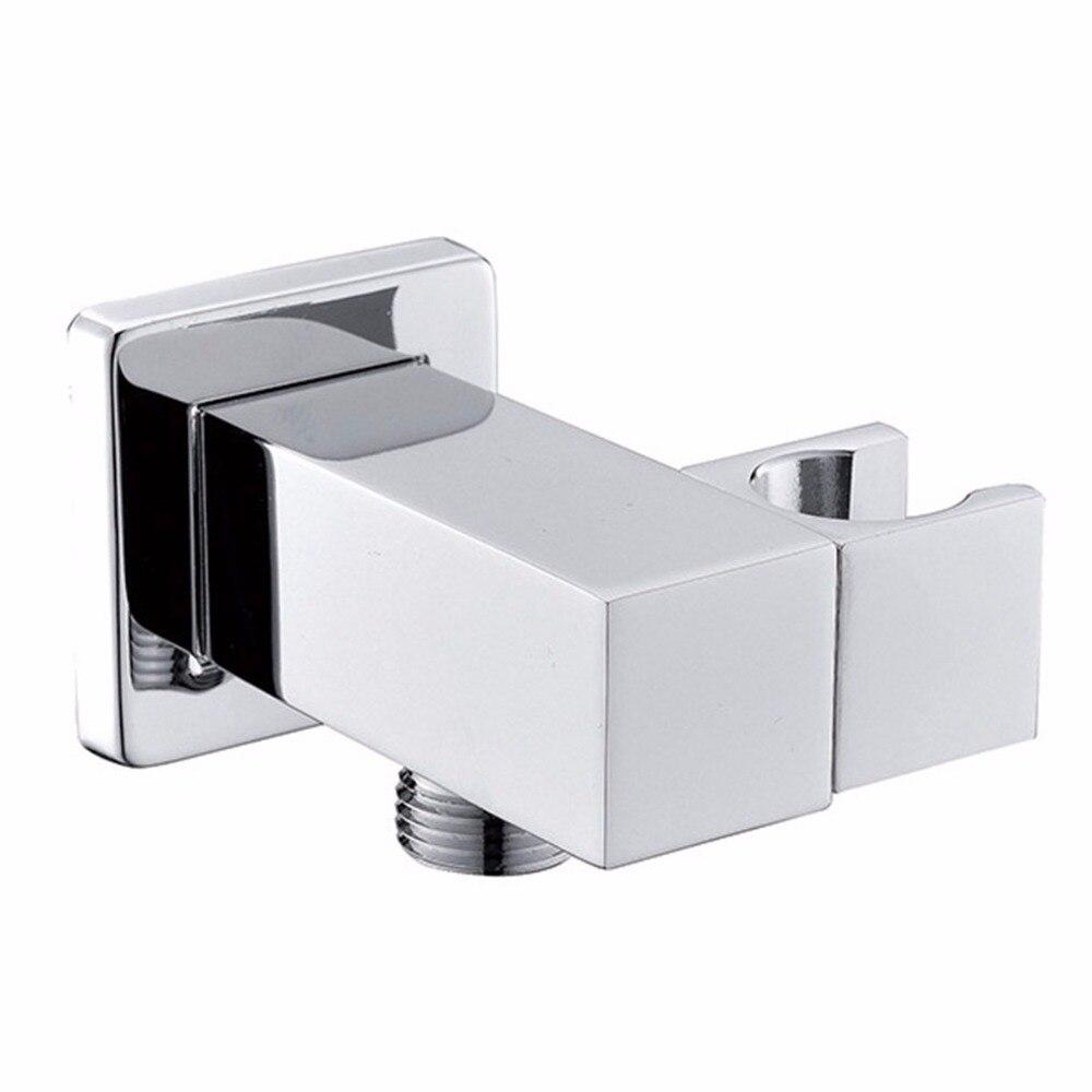 Tuyau de douche coude de sortie chrom/é connecteur