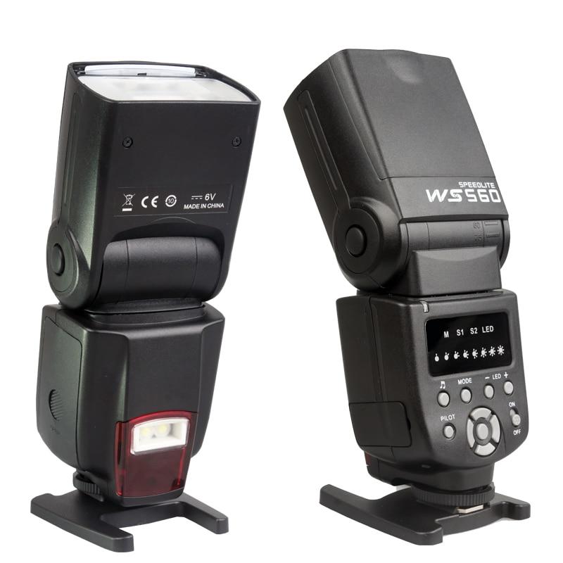 NEW WANSEN WS-560I Flash Speedlite for Nikon D3100 D5100 D7000 D7100 Canon 450D 500D 550D 600D 650D 60D 70D as Yongnuo 560 цена и фото