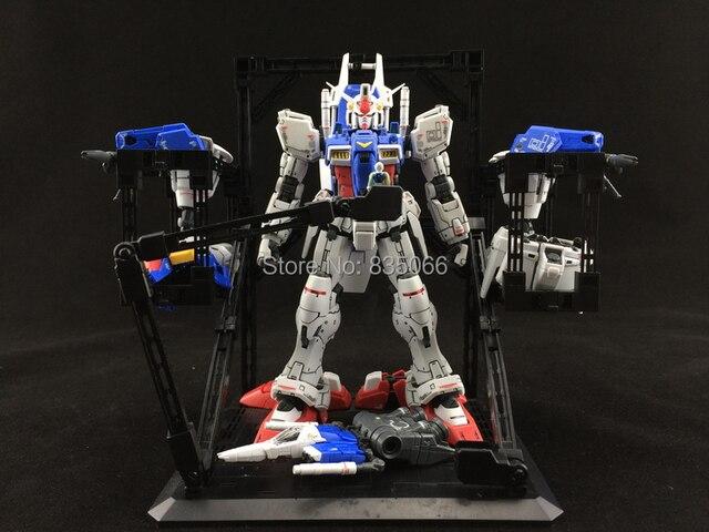 Japanese Gundam Scenario Building Mechanical Chain Base Robot Equipment Rack Display Stand Action Figure