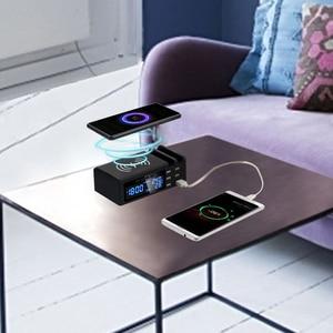 Image 4 - SCOMAS Qi אלחוטי טלפון מטען מהיר טעינה 48w 6 יציאות מתאם רב מהיר USB תשלום dock תחנה עבור iphone tablet QC 3.0