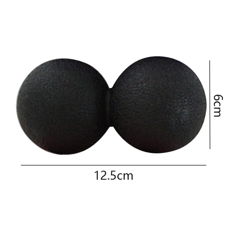 Dual Lacrosse Massage Ball, Double Ball Conjoined Fascia Massage Ball, Deep Relaxation Muscle Fitness Ball arm muscle fitness equipment electronic hand grips gyro power ball flash wrist ball