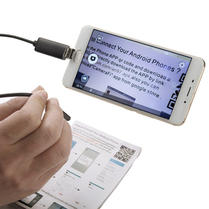 Image 2 - JCWHCAM 10 متر Borescope كاميرا بـ USB المنظار 7 مللي متر OTG المصغّر usb المنظار التفتيش كاميرا مع 6 LED ل أندرويد/Win7/8/10