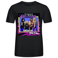 New Steel Panther Glam Metal Rock Band Men S Black T Shirt Size S To 2XL
