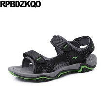 187d4dfb81068 Outdoor Summer Sandals Waterproof Designer Shoes Men High Quality Flat Size  45 Water Sneakers Mesh Fashion