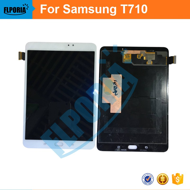 For Samsung Galaxy Tab S2 8.0 T710 Tablet LCD Display Monitor + Touch Screen Digitizer Panel Glass  Assembly 100% Original New for lenovo yoga tablet 2 1050 1050f 1050l new full lcd display monitor digitizer touch screen glass panel assembly replacement