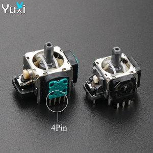 Image 1 - YuXi 2 قطعة/الوحدة استبدال 3pin 4pin عصا التحكم ثلاثية الأبعاد التناظرية قبضة عصا لسوني PS3 المراقب المالي