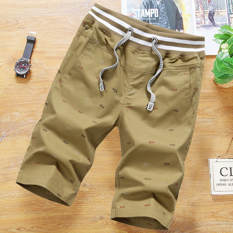Brand Shorts Men Casual Bottom 2019 Summer Men 39 s Shorts High Quality Elastic Fashion Skateboard Shorts Male Plus Size 4XL in Board Shorts from Men 39 s Clothing