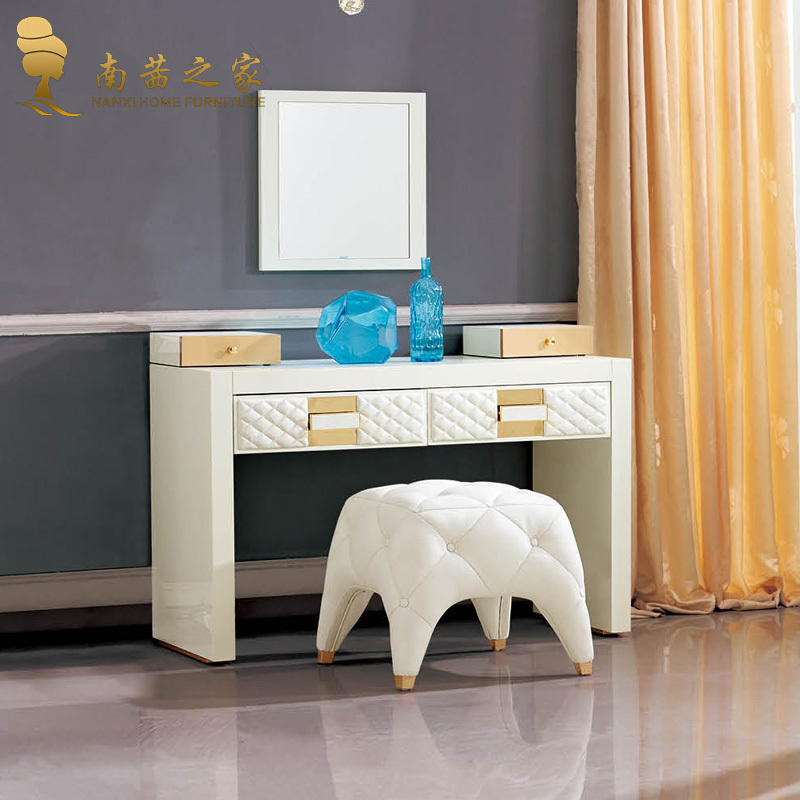 Haute qualit coiffeuse chambre meubles de maison meubles for Meuble coiffeuse en anglais