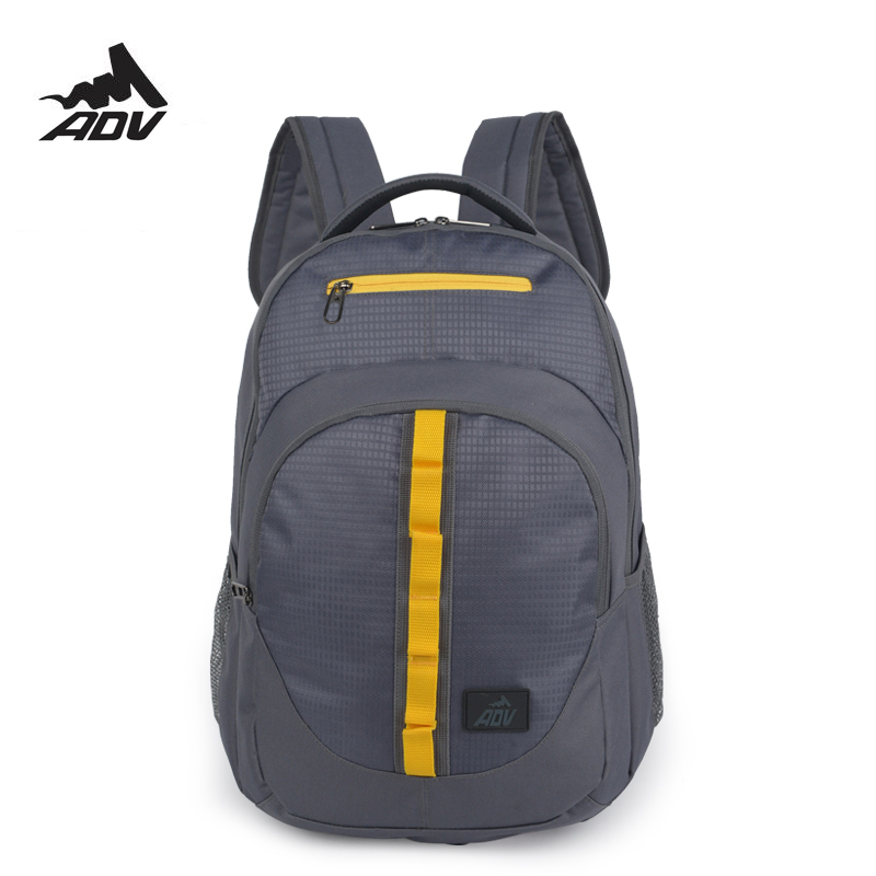 882d5083a251 Adventteam waterproof Men casual backpack solid school bags for teenage  modern stylish rucksack multilayer daypacks-in Backpacks from Luggage   Bags  on ...