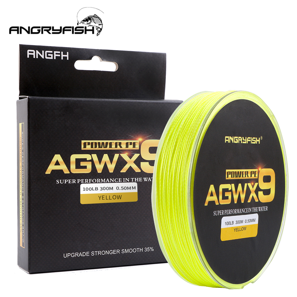 9 Strands 300m Super PE Braided Fishing Line 6 Colors   1